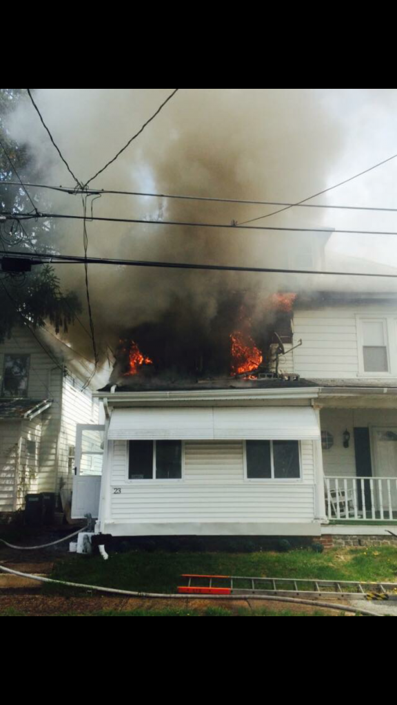 HOUSE FIRE IN PARKSIDE