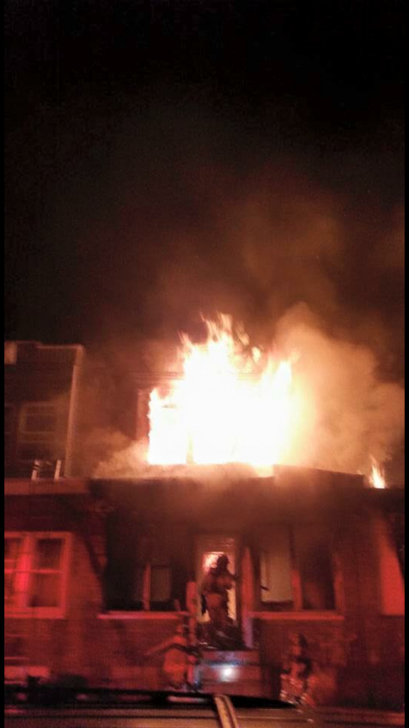 3RD ALARM IN CHESTER