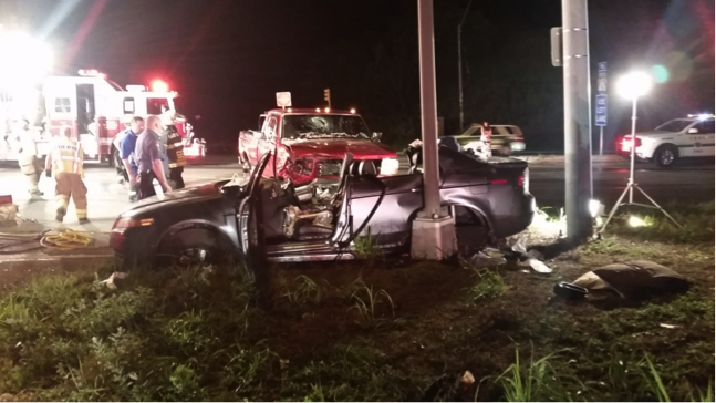FOUR TRAPPED ON BALTIMORE PIKE