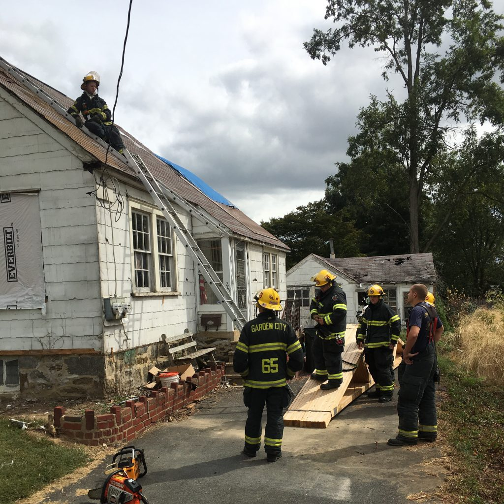 ROOF OPS AT ACQUIRED STRUCTURE